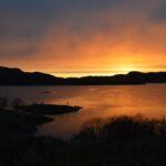 Solnedgang vår